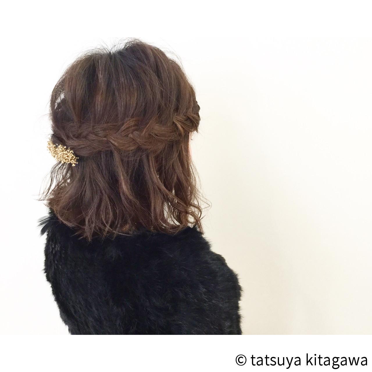 外国人風 ヘアアレンジ 結婚式 花嫁 ヘアスタイルや髪型の写真・画像