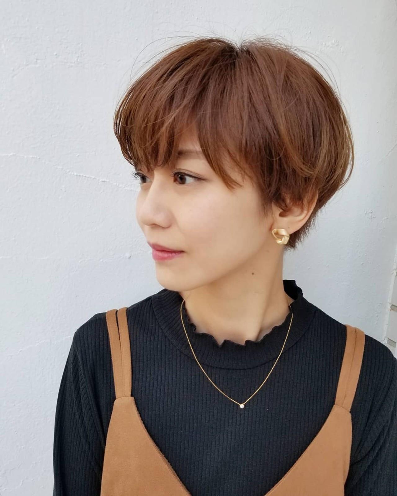 エアリーで大人かわいいマッシュショート 川田 義人 GREEK hairdesign