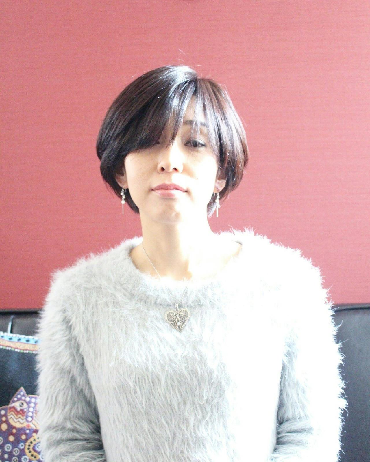 束感×うざバングでクールな大人美人 Seiichirou Ueda