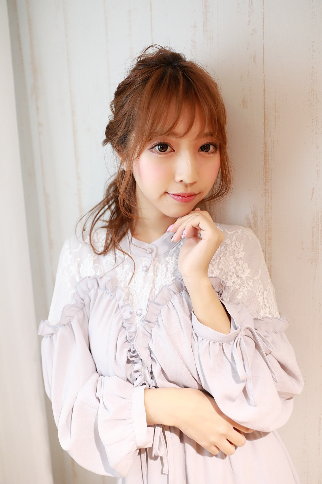 【前髪あり】キュート&ガーリッシュなスタイル Naoko Miura