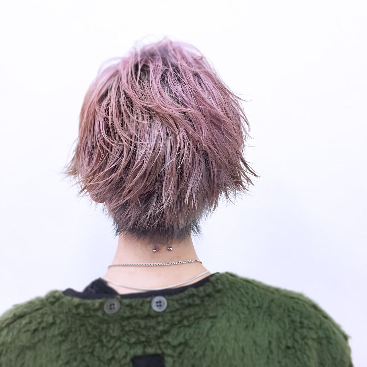 グレイッシュなヘアカラーをベースにモードな雰囲気 YSO電髪倶楽部street