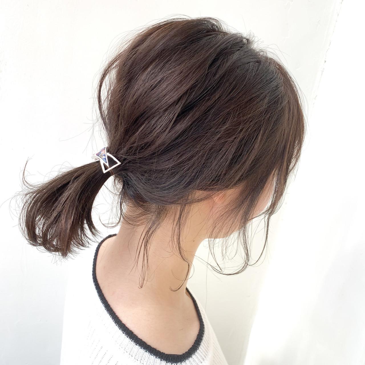 オフィスでも活躍の美人ポニーテール Kaoru_ishiga