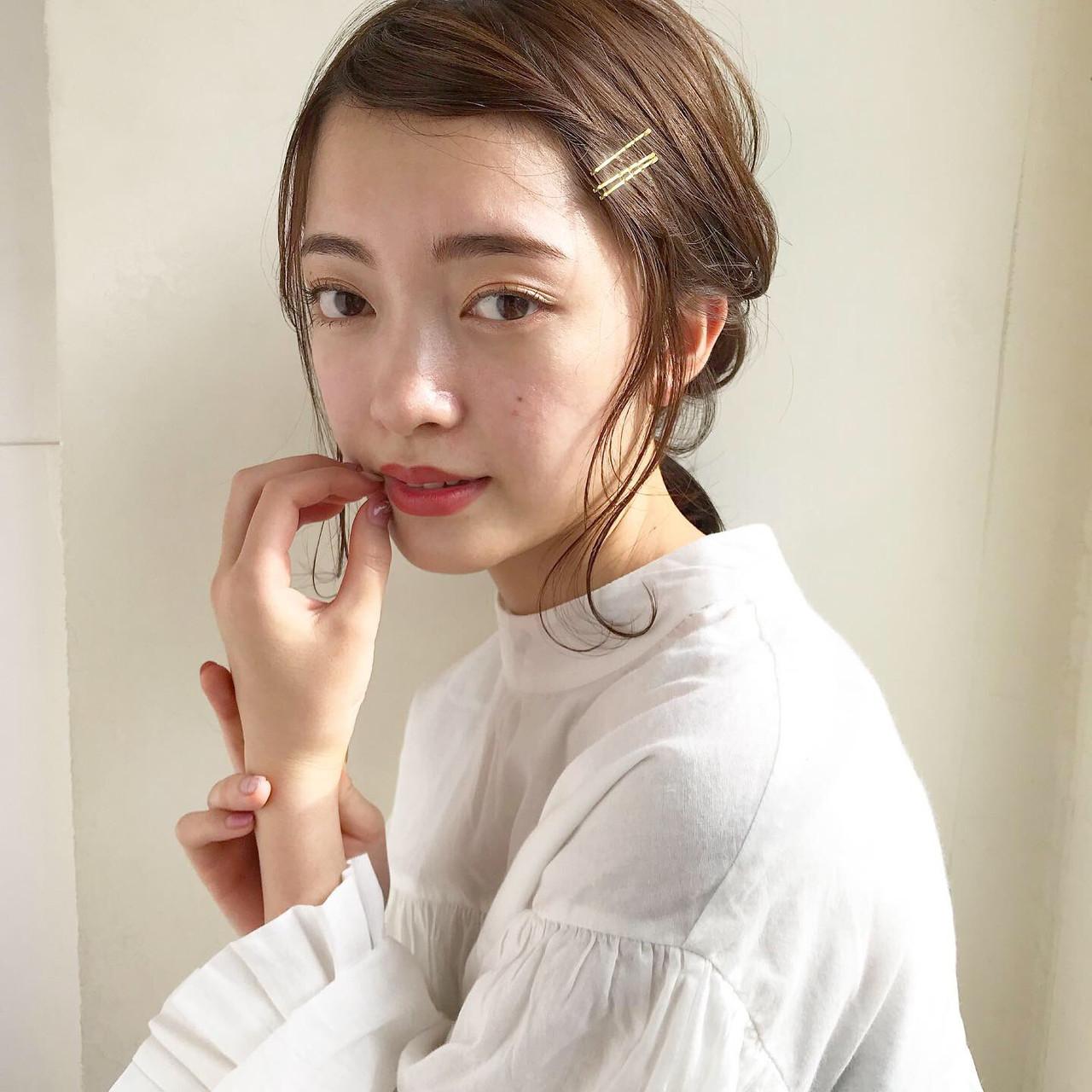 【前髪なし】清楚なオールバック風アレンジ 伊藤愛子 GARDEN