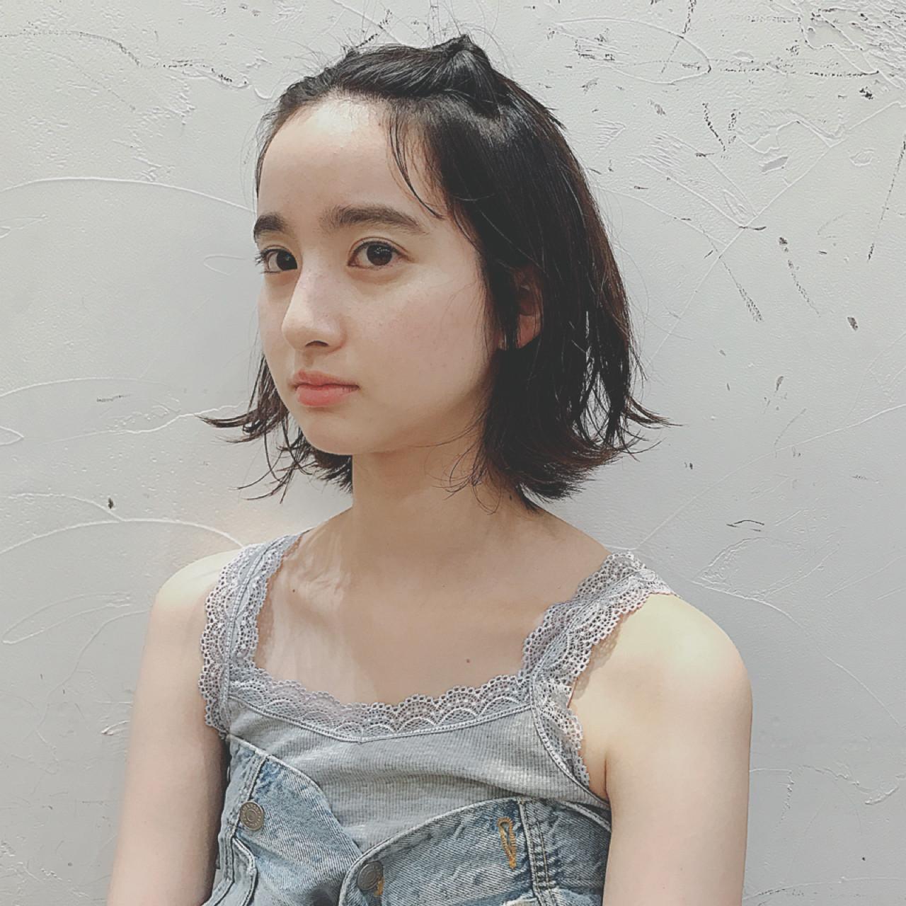 短い前髪もOK!前髪両サイドくるりんぱ♡ NEUTRAL 中園 香峰