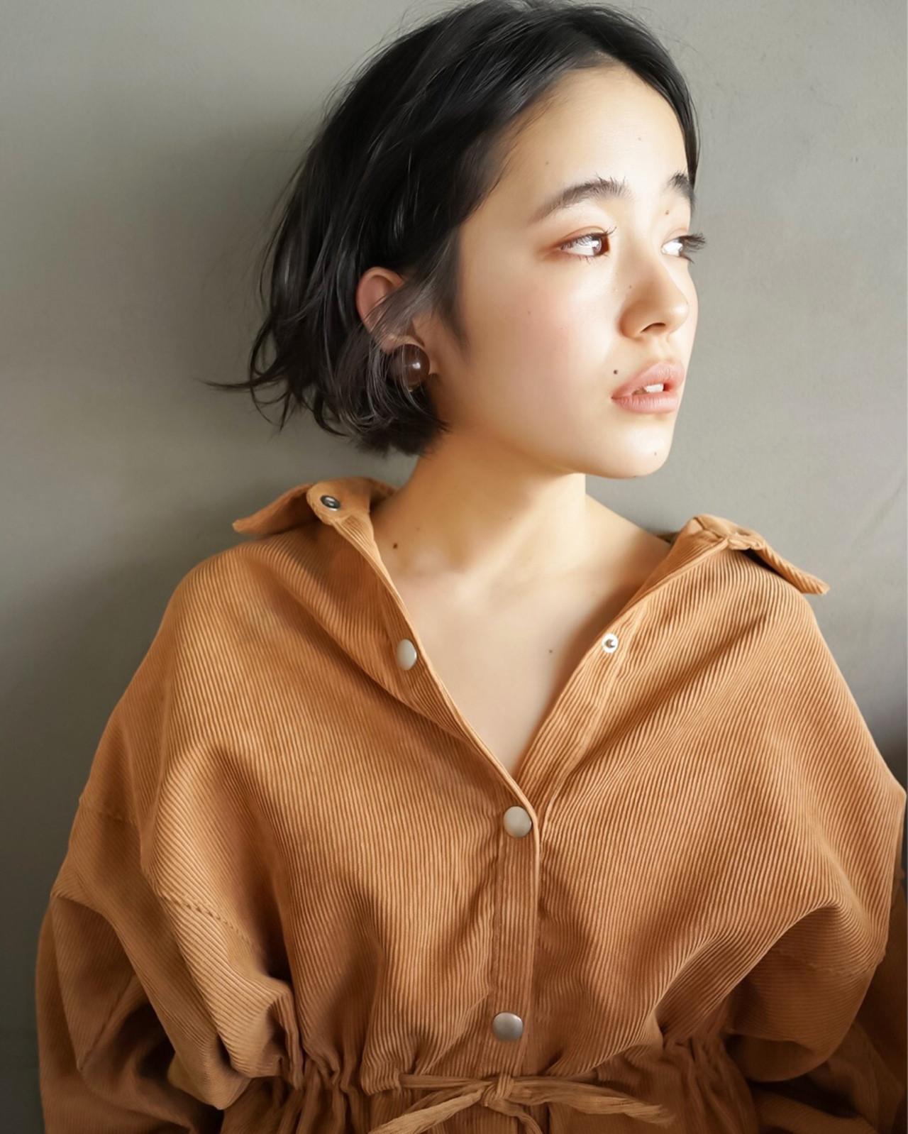 クセ毛風ナチュラルボブ 佐野 正人 / nanuk