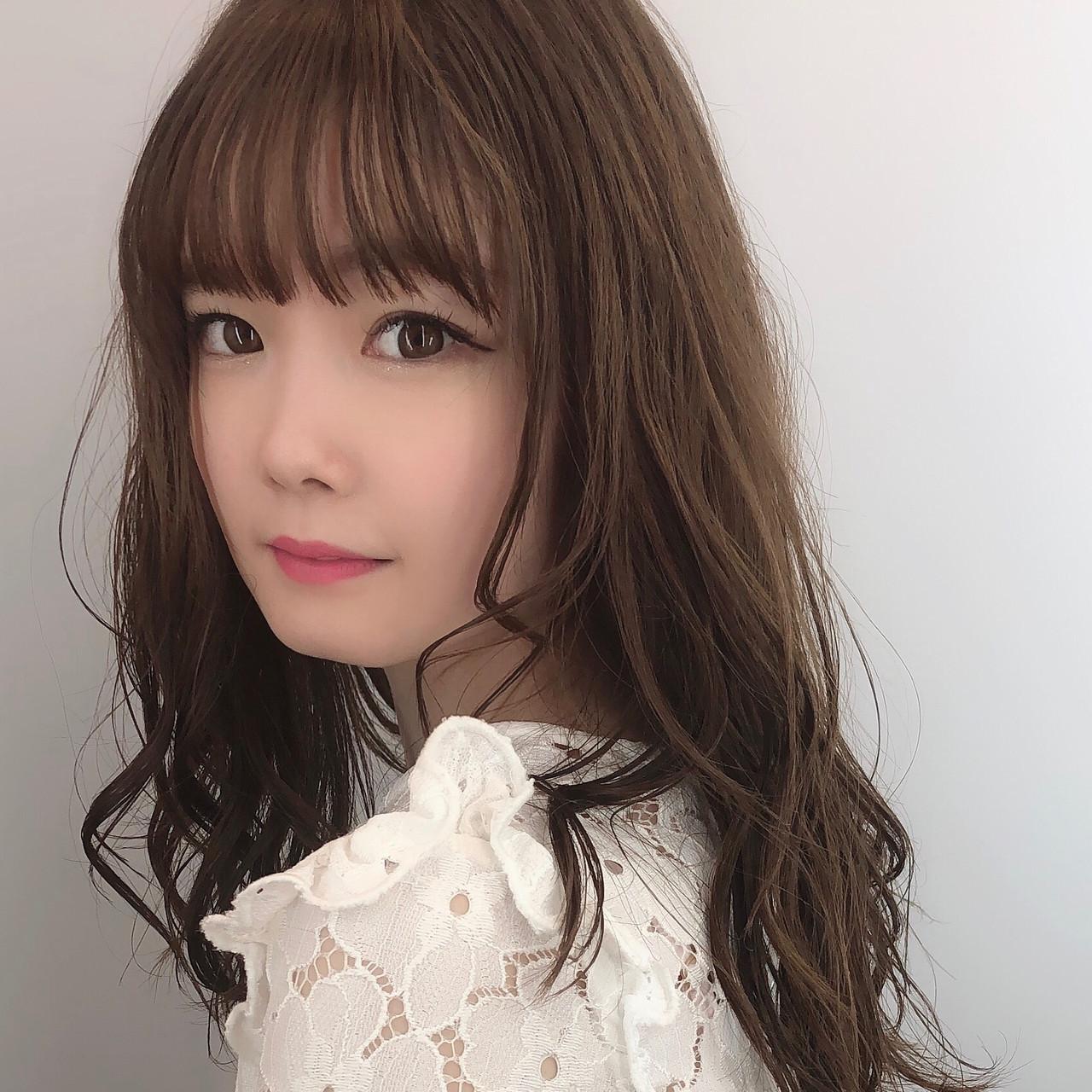 女性にモテる髪型!ぱっつん×シースルーバング 川原梨央