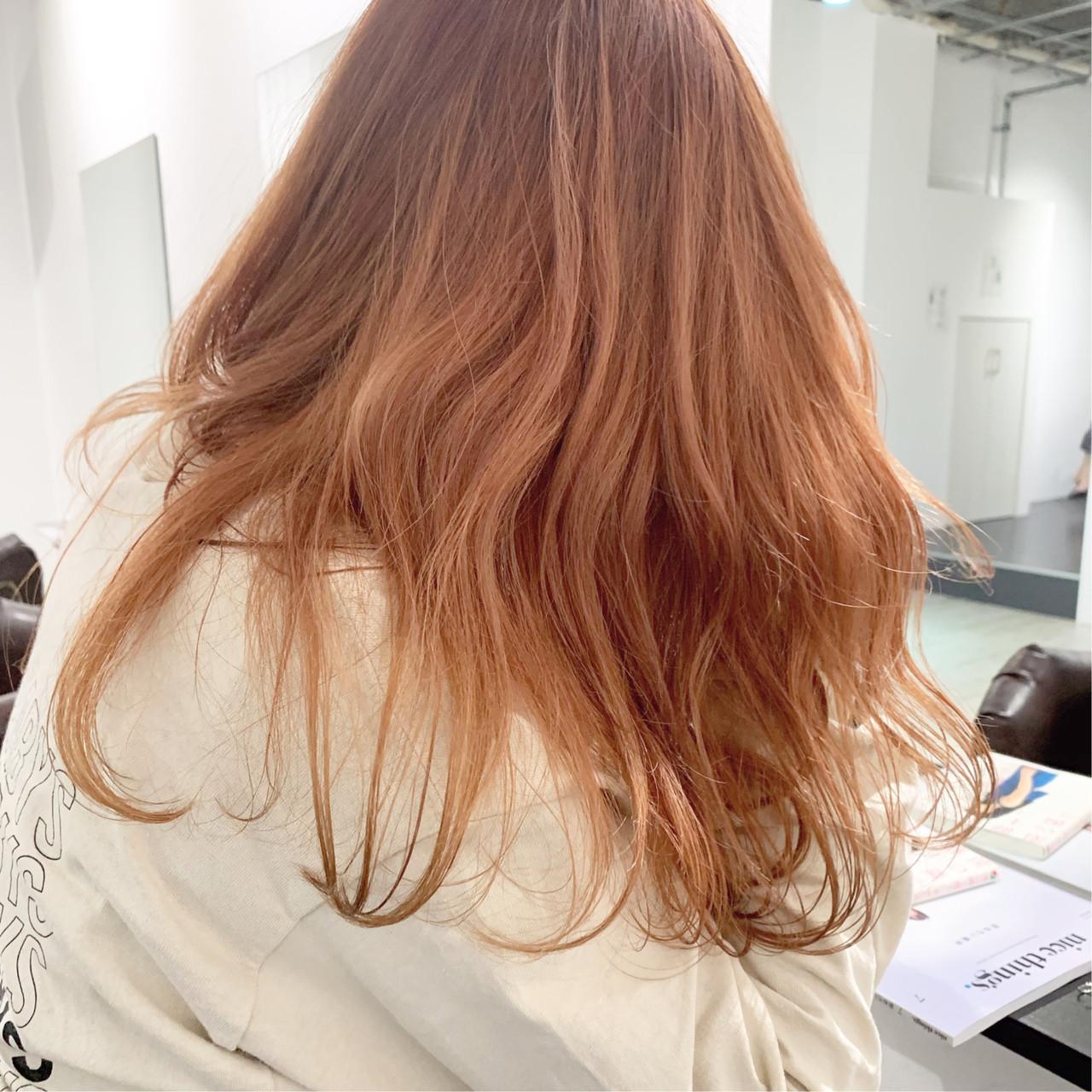 プラスオレンジ♡ガーリー女子ヘアカラー 中村明俊 / ooit