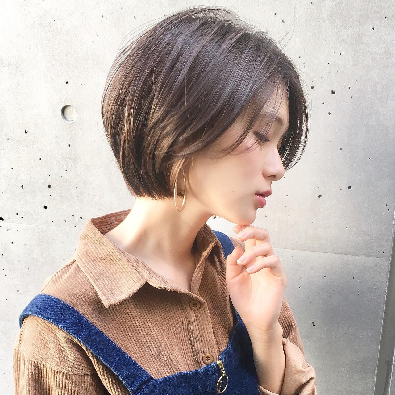面長さんにおすすめ♡黒木瞳風人気ショートヘア ショートボブの匠【 山内大成 】GARDEN