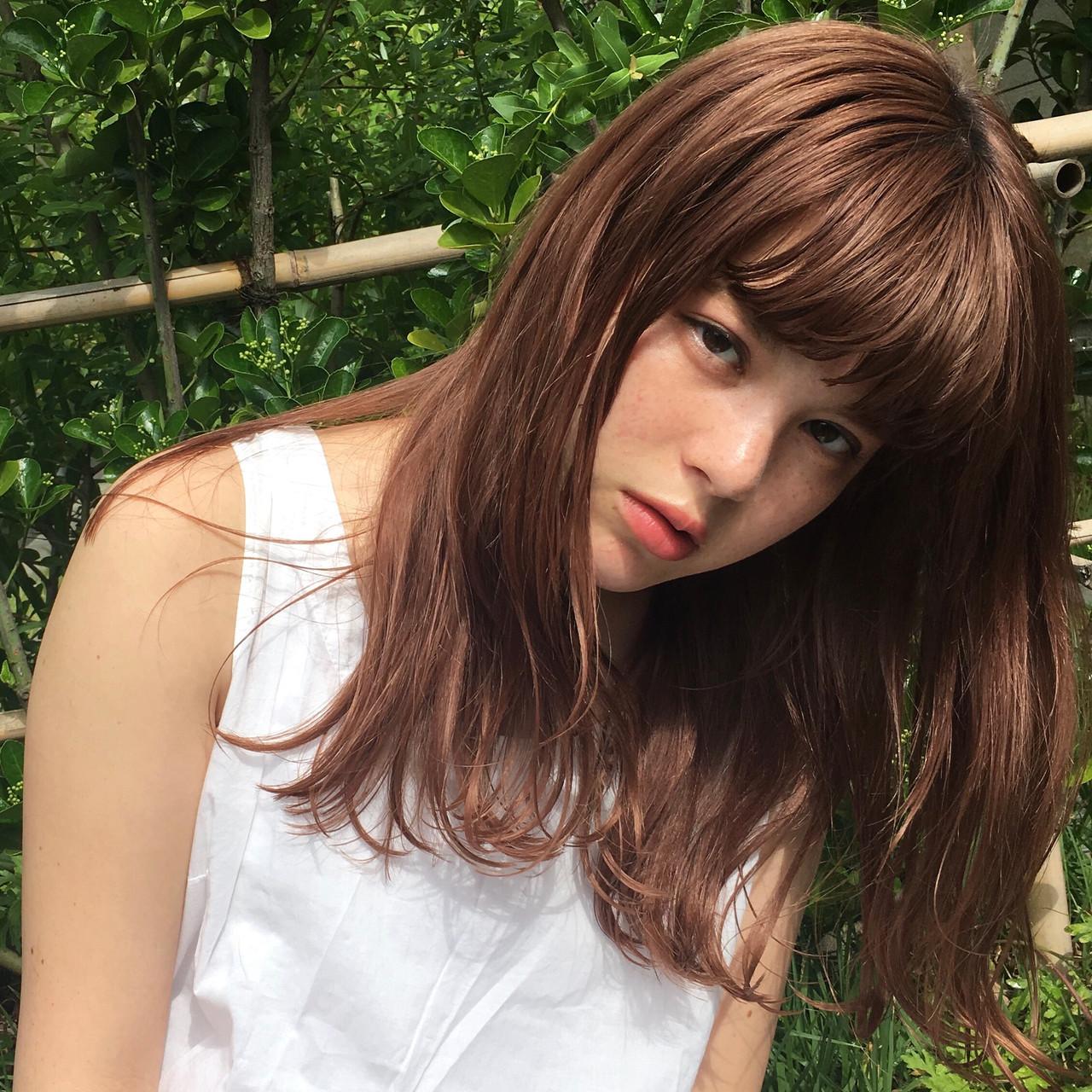 女っぽサラサラヘアは色気のある大人ヘアに 白水小百合