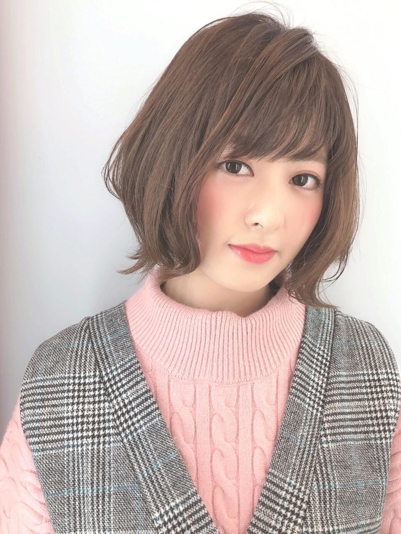 ゆるふわで可愛いひし形ボブ Marie Tagawa 【morio原宿】