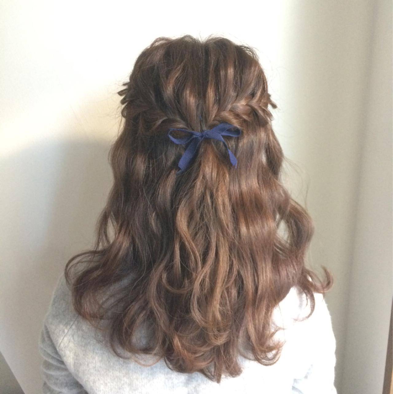 【ハーフアップ】花嫁似合わせ髪型18選♡一生の思い出に