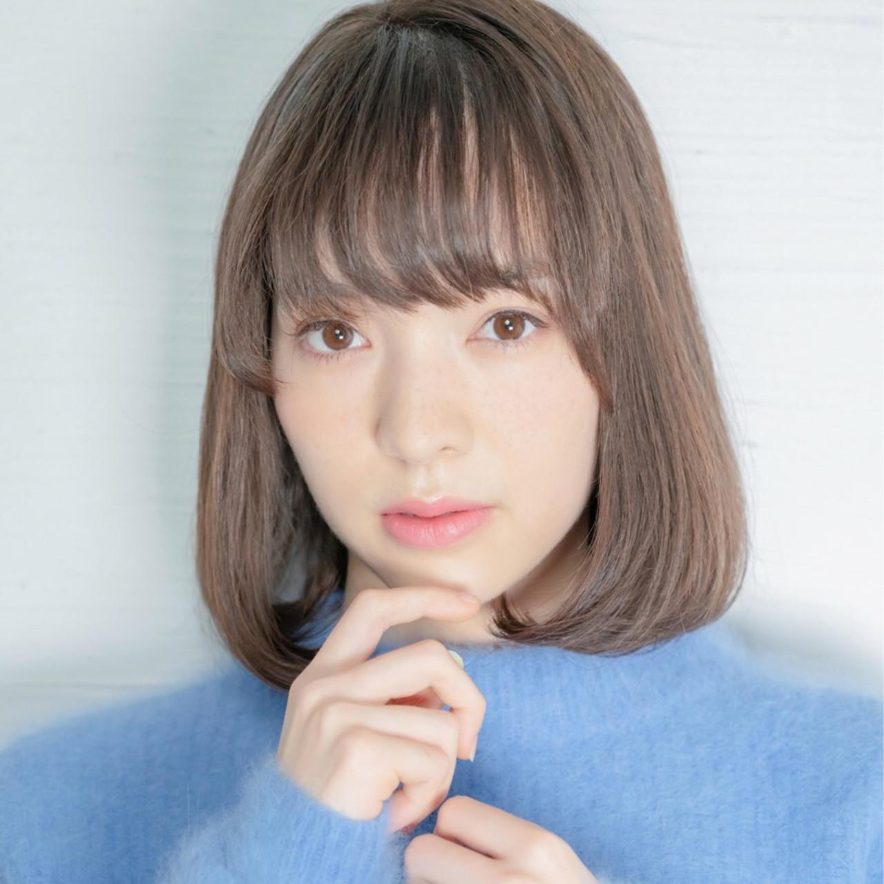 内巻きワンカールでフェミニンに♡ 中山優介/h&m insi /表参道原宿/