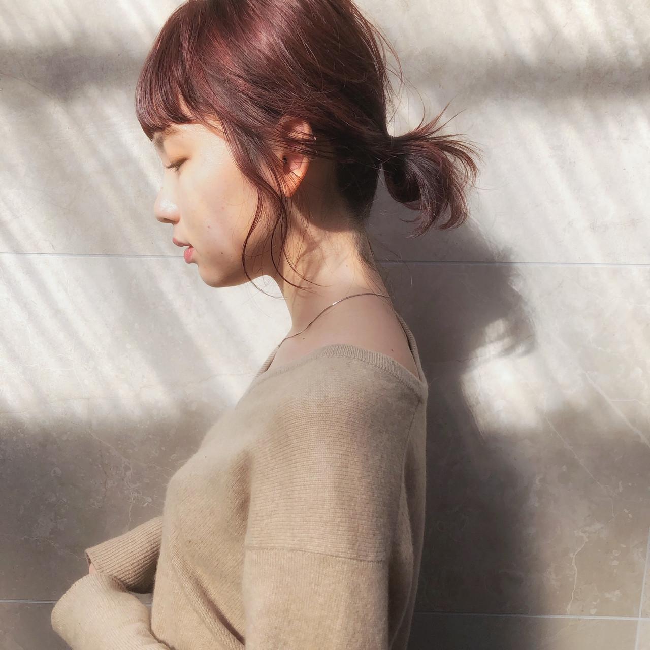 後れ毛を活かして☆アンニュイほつれボブアレンジ Kengo