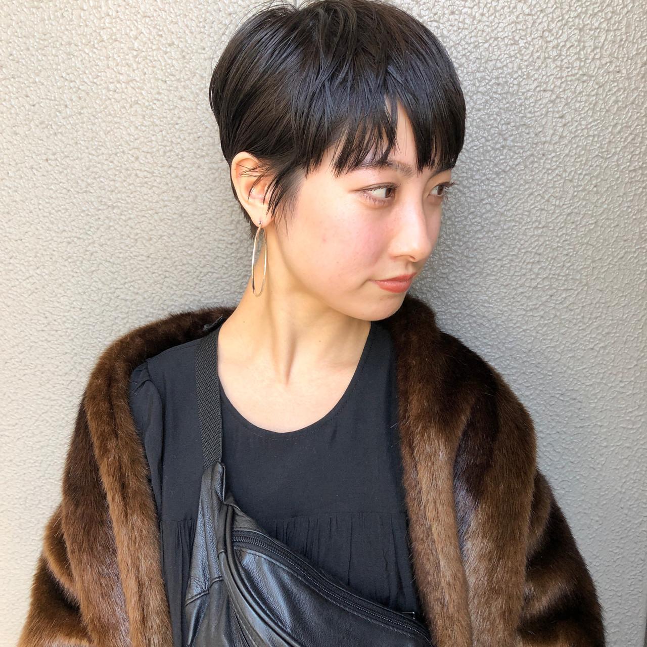 50代は大人ベリーショートですっきりクールに 坂本圭太朗