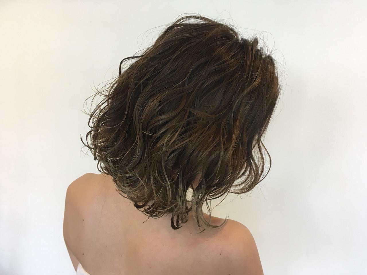 巻き髪でボリュームUP! 植月あずさ