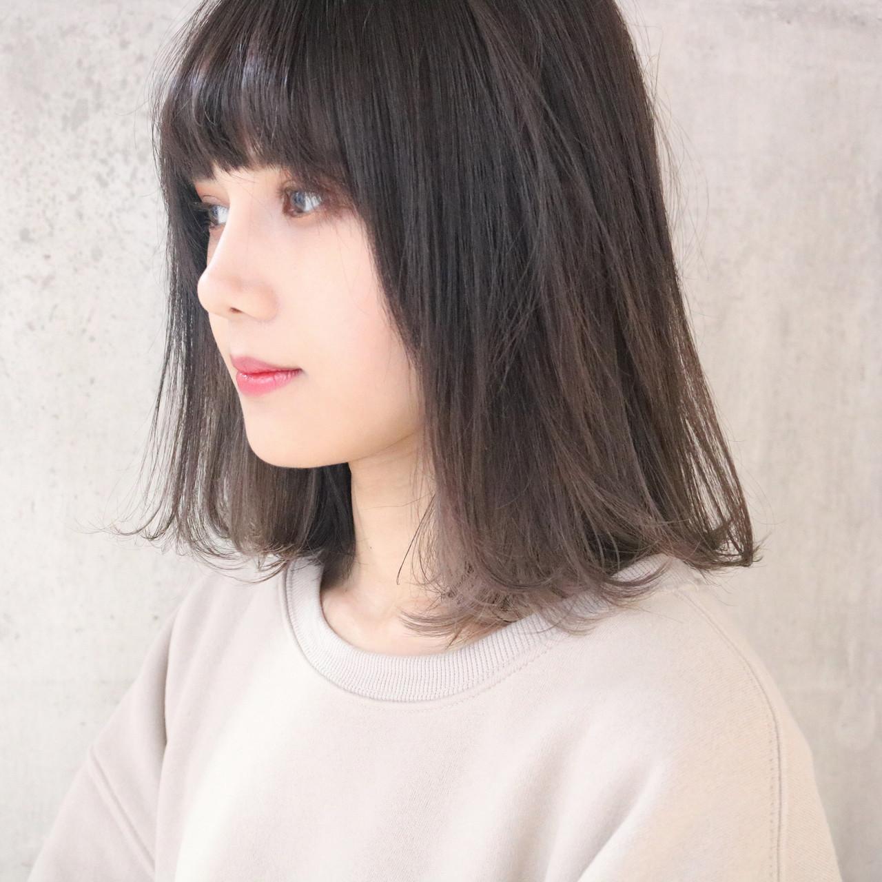 暗めがステキ☆ミディアム似合わせのミルクティー 中村明俊 / ooit