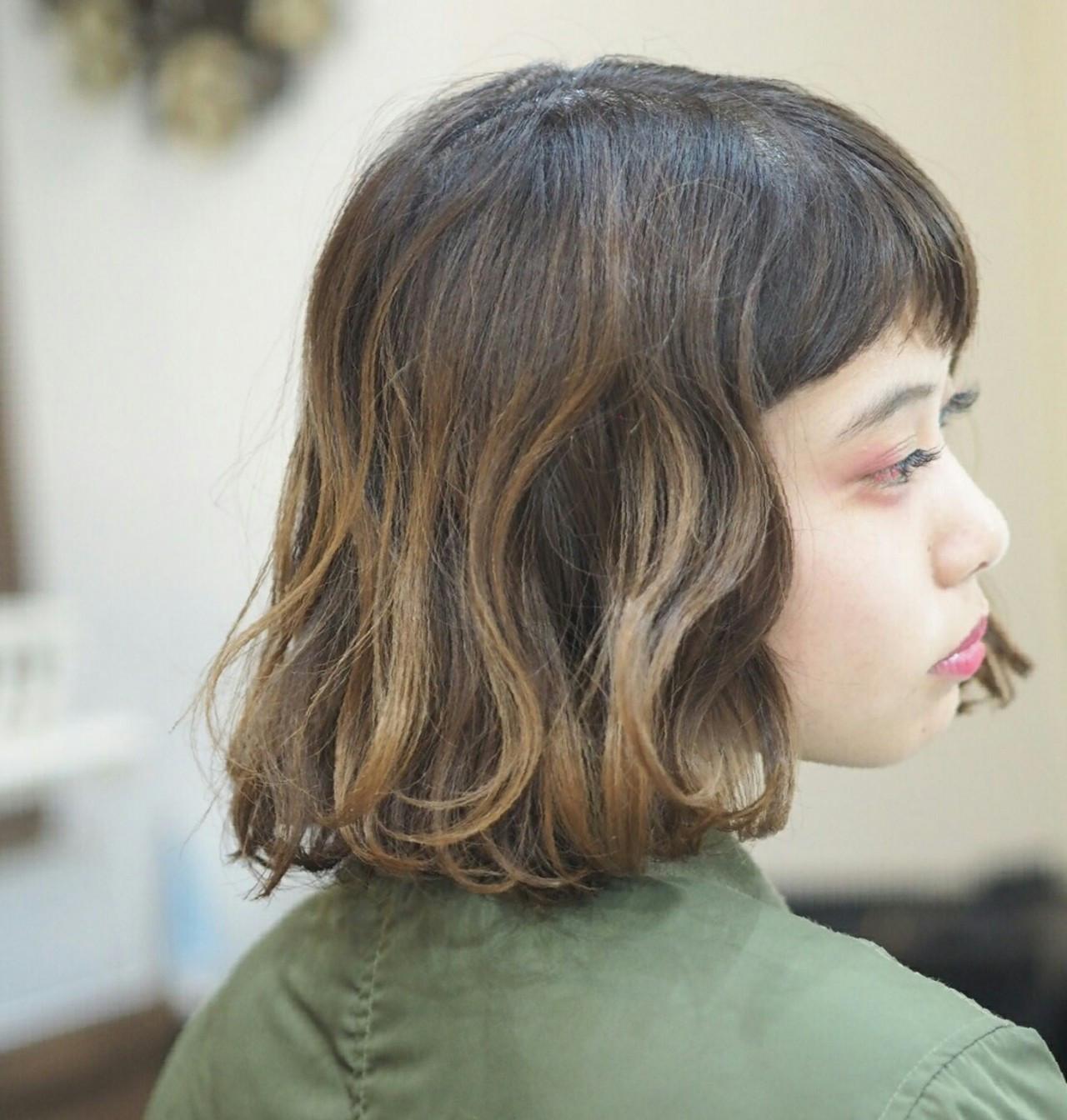 ハイライト 女子会 ショート ガーリー ヘアスタイルや髪型の写真・画像