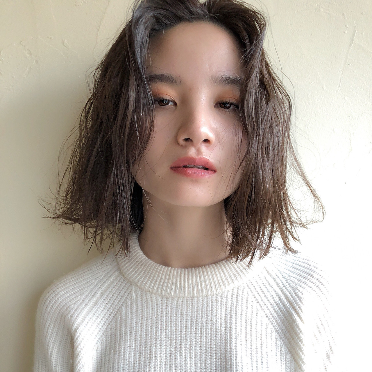 アンニュイでセクシーな伸ばしかけ前髪アレンジ wazubulb daikanyama