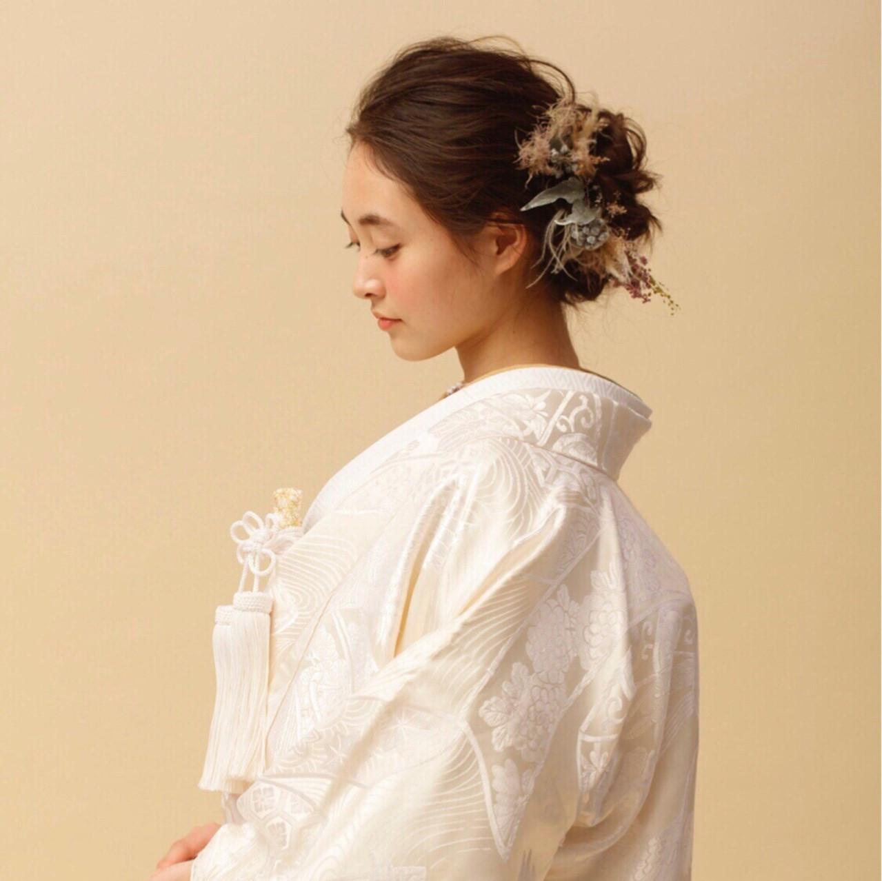 結婚式はやっぱり和装♡花嫁からお呼ばれまで、似合う髪型を選ぼう