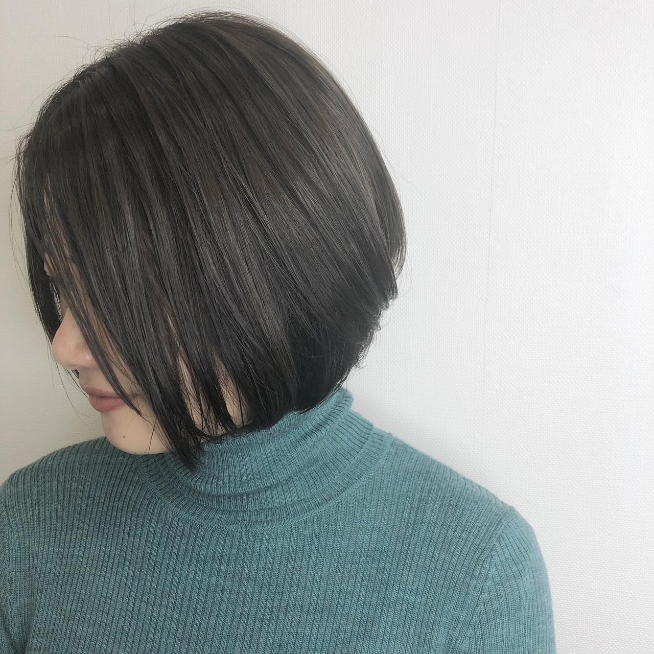 オフィスOKの暗めカラー♡ツヤ髪を実現させて♪ REMI