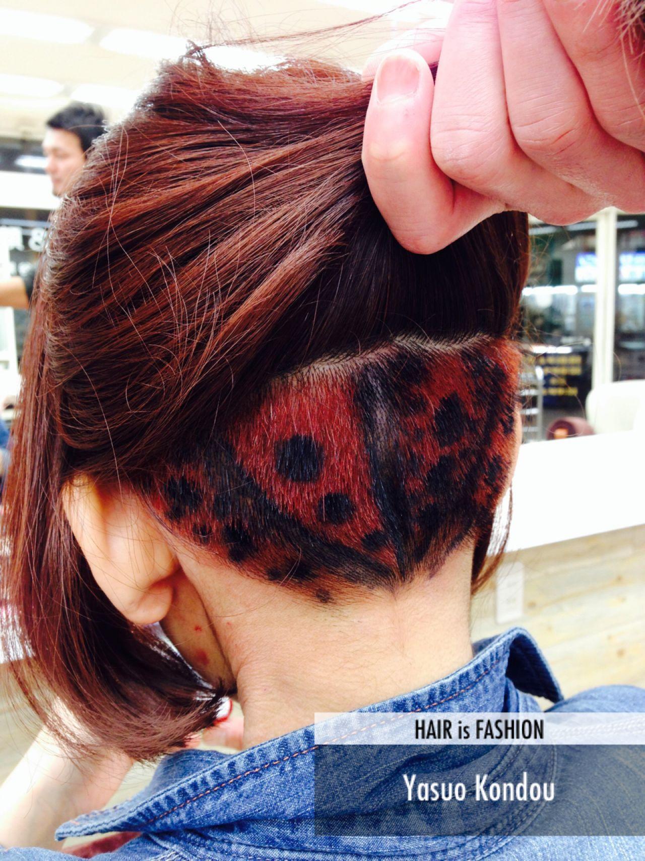 普段はボブに!大人女子のおしゃれアートヘア YSO