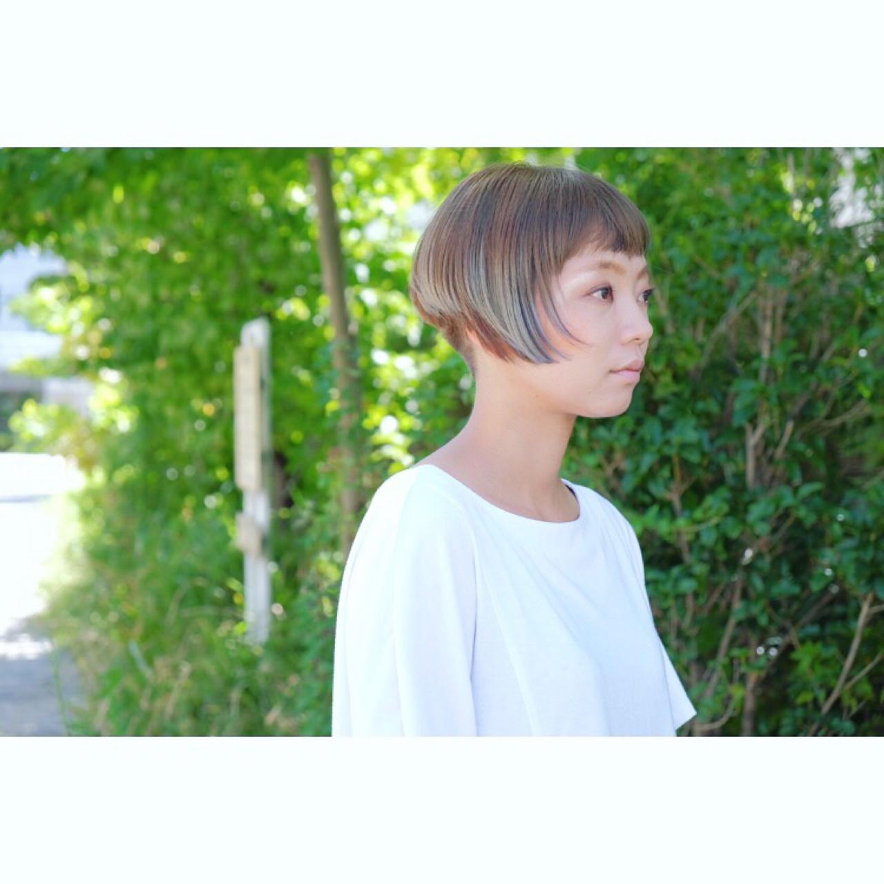 おかっぱ×前下がりで素敵女子に変身して! 松永和樹