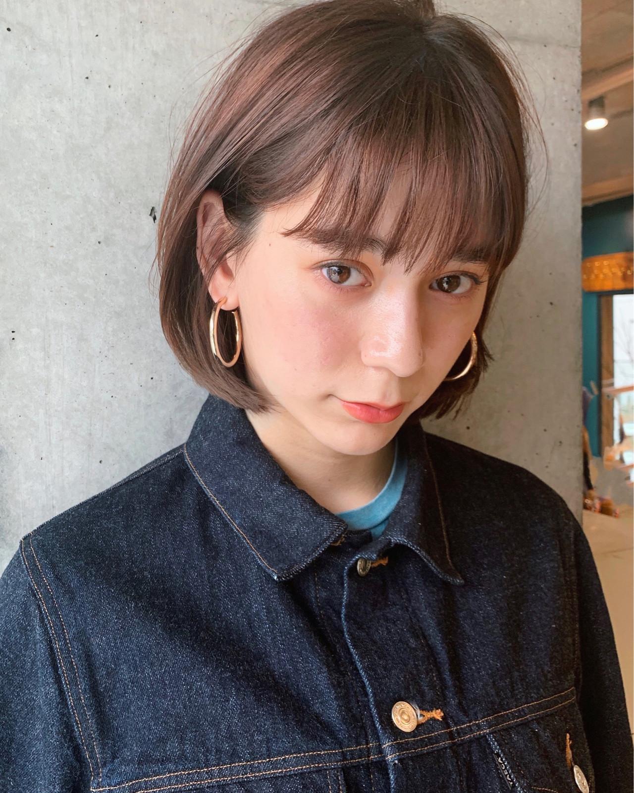 赤味たっぷりの優しいミルクティーベージュカラー 金子 周平 / ANDREY
