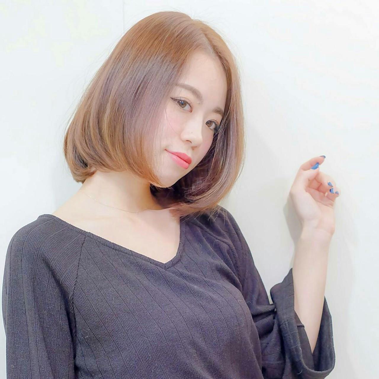大人かわいい ナチュラル 内巻き サラサラ ヘアスタイルや髪型の写真・画像