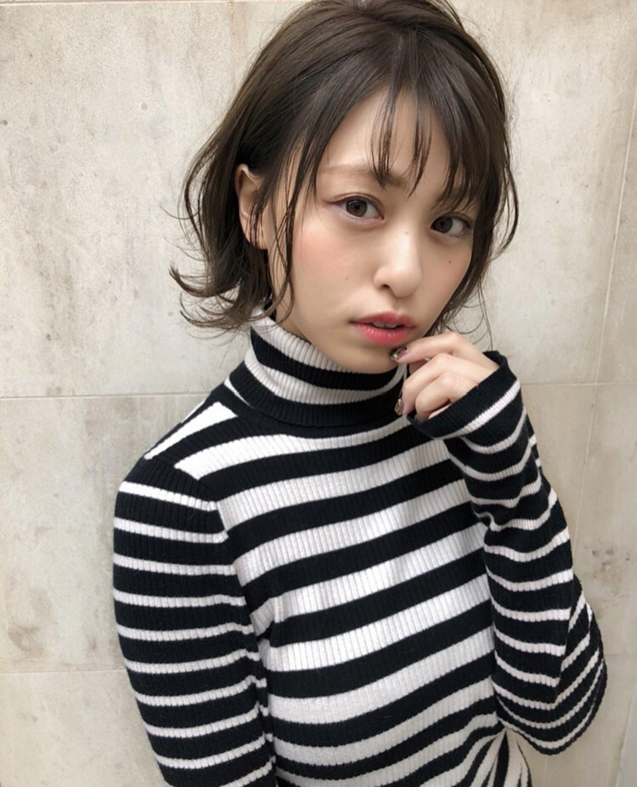 伸ばしかけのときこそかわいく♡モテショート 関亜梨佐 モテ髪インスタ0404ari