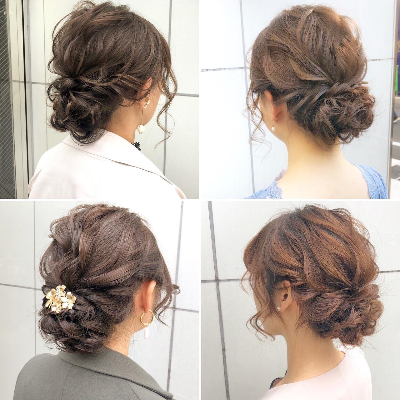 結婚式ボブアレンジ集 お呼ばれは華やかに飾らなきゃ Hair