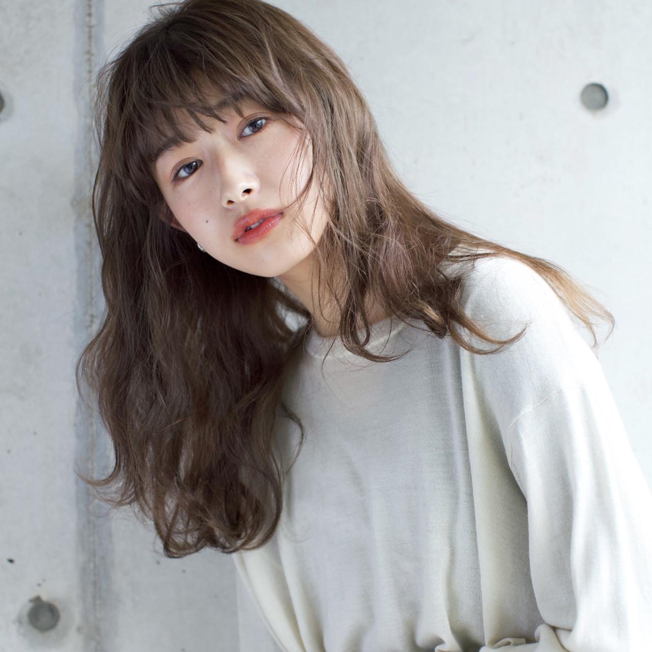 簡単 ロング 女子力 エフォートレス ヘアスタイルや髪型の写真・画像