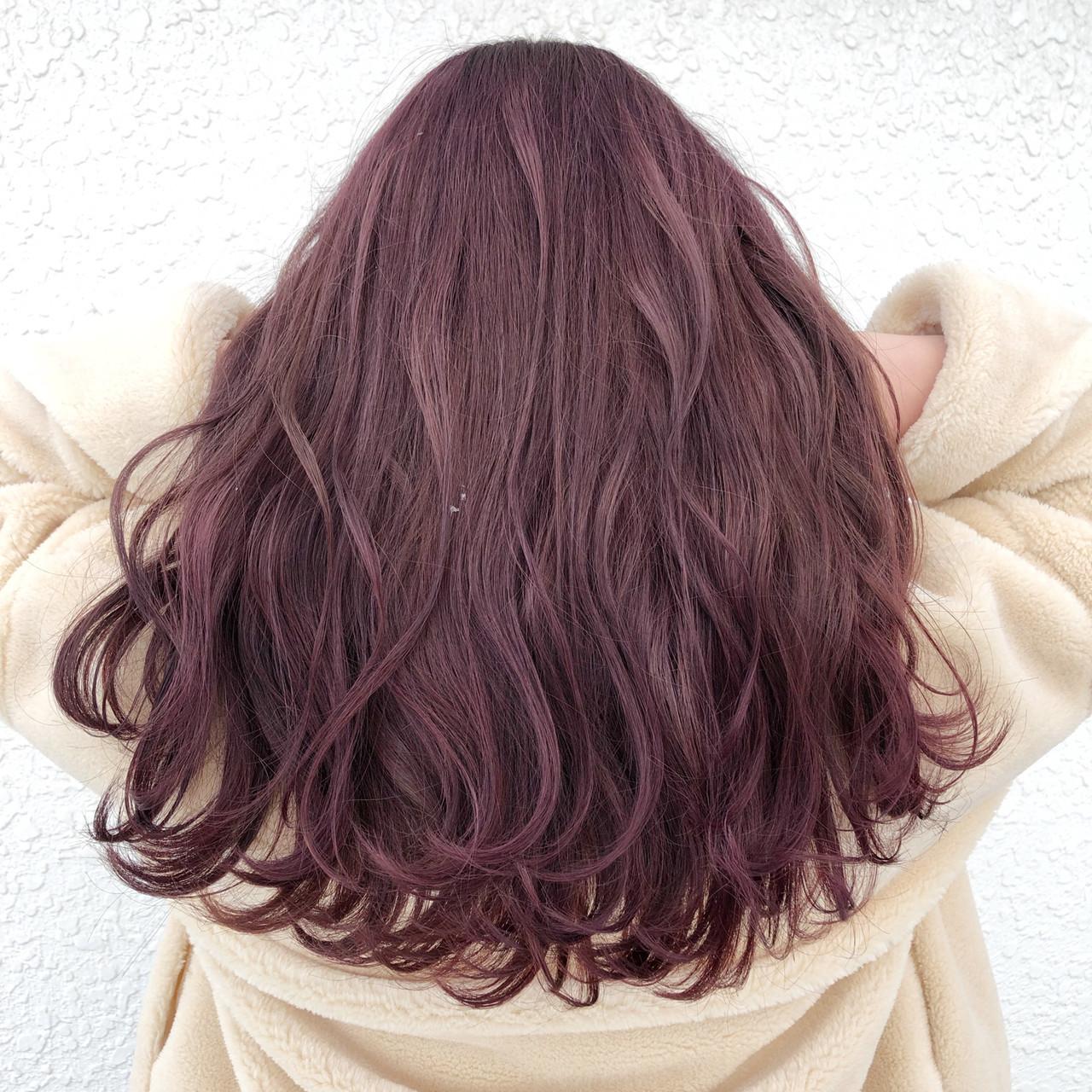 トレンドのピンクパープルで春モード♡ 蝦名貴之
