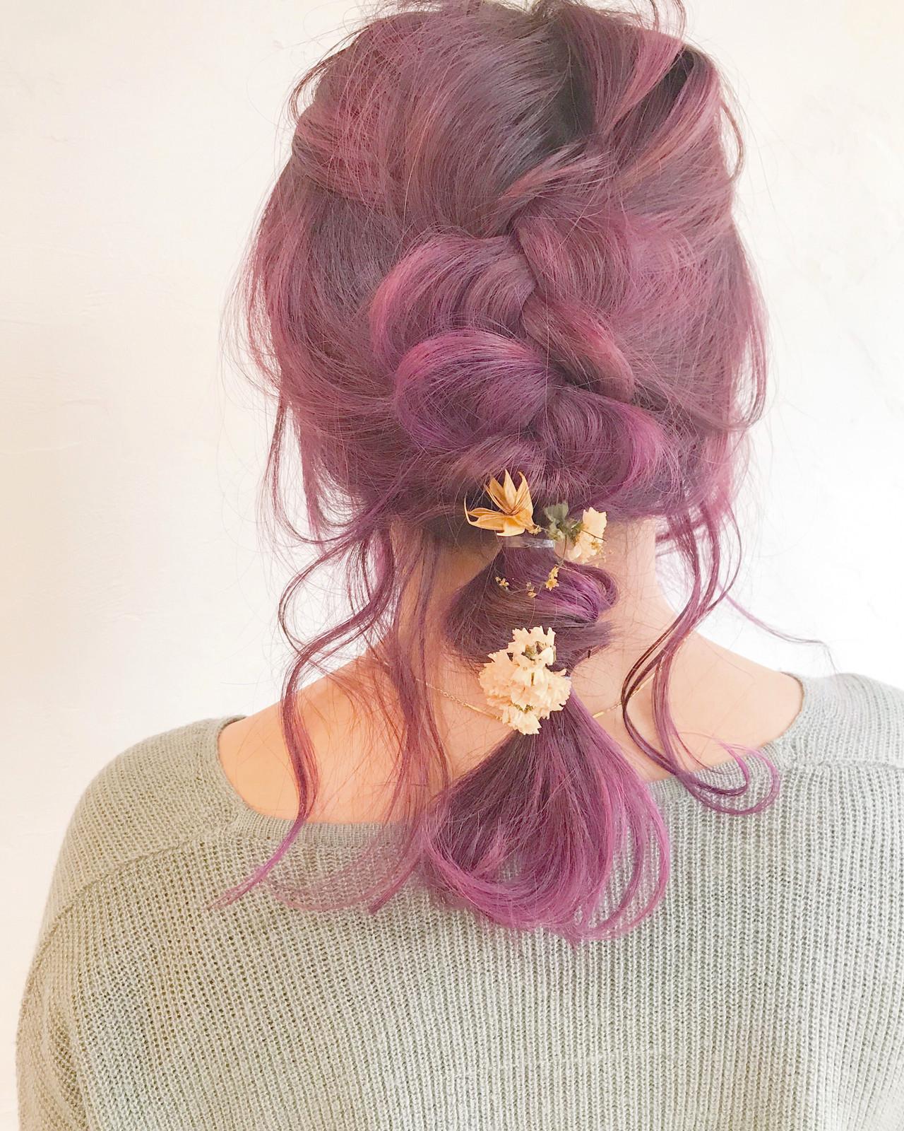 アンニュイほつれヘア 結婚式 簡単ヘアアレンジ ヘアアレンジ ヘアスタイルや髪型の写真・画像