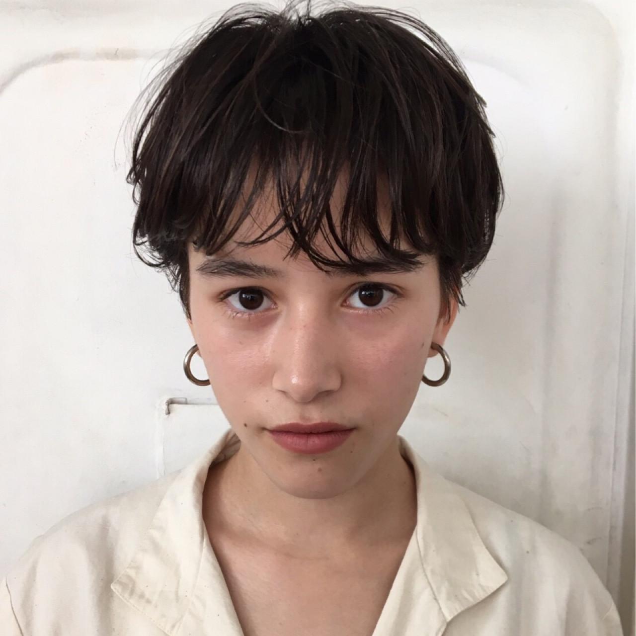 ベリーショートのパーマスタイルで強めな女性像を演出 高橋 忍nanuk渋谷店(ナヌーク)