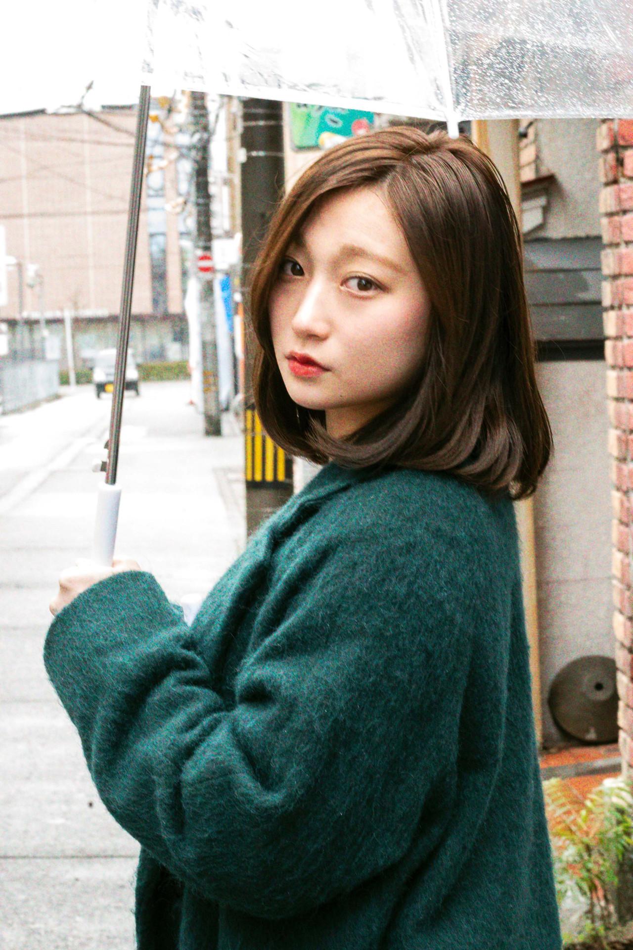 30代、40代の大人女子にはミディアムボブ shohei nishimori
