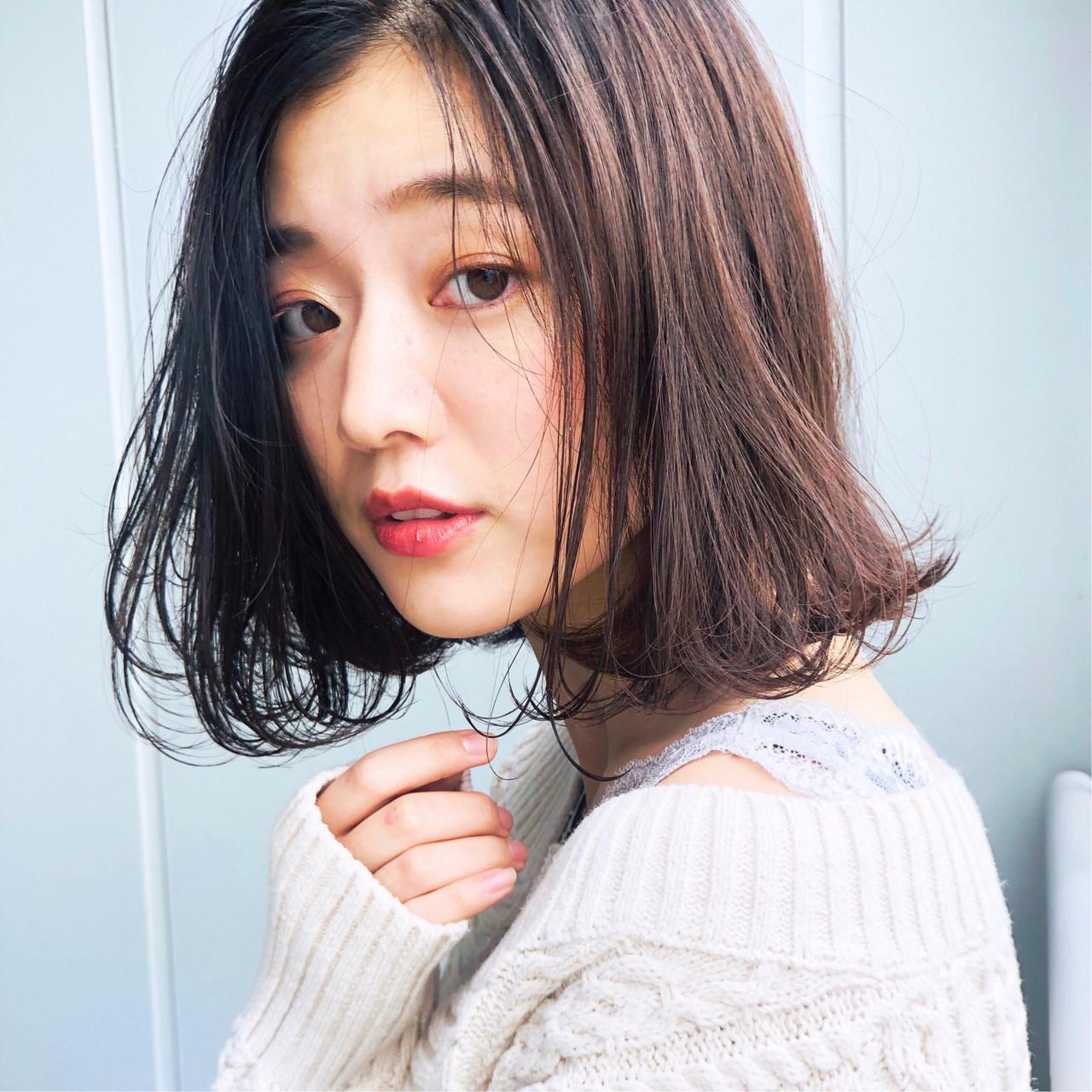 大人髪型なら切りっぱなしボブ 日野 達也/BellaDolce