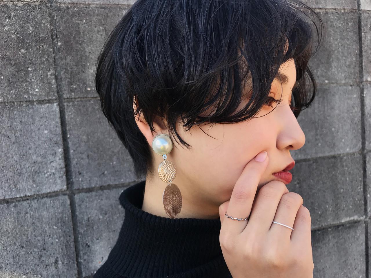 【20代】パーマで前髪と毛先に動きをプラス 福田 拓郎Gluck (グルーク)