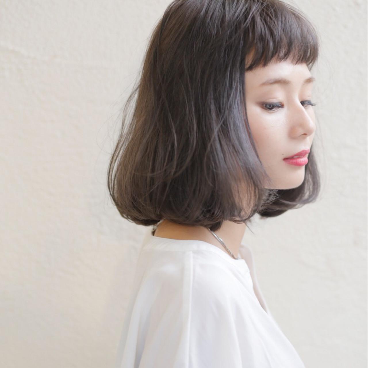 <前髪あり>ショートバングで大人かわいく♡ 中山優介/h&m insi /店長/表参道原宿
