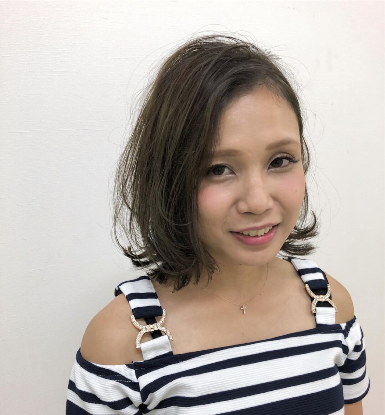 ナチュラル派に♡かき上げ風の色っぽヘア Yuuta Asato