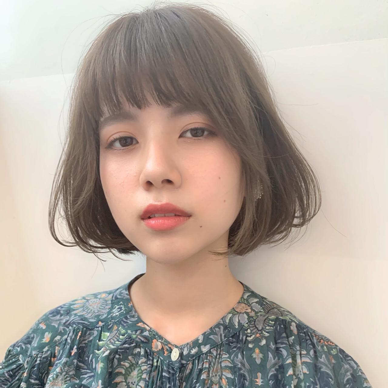 ミルクティーベージュで愛されボブ♡ LIPPS銀座 安田愛佳