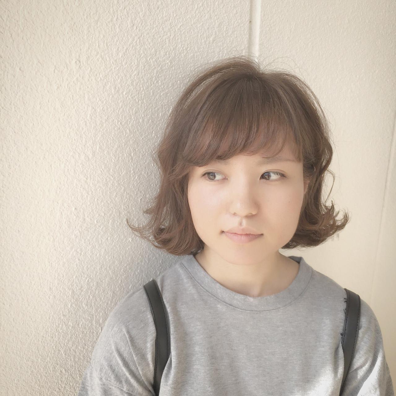 くせ毛風のナチュラル前髪ありボブ Yuuta Asato
