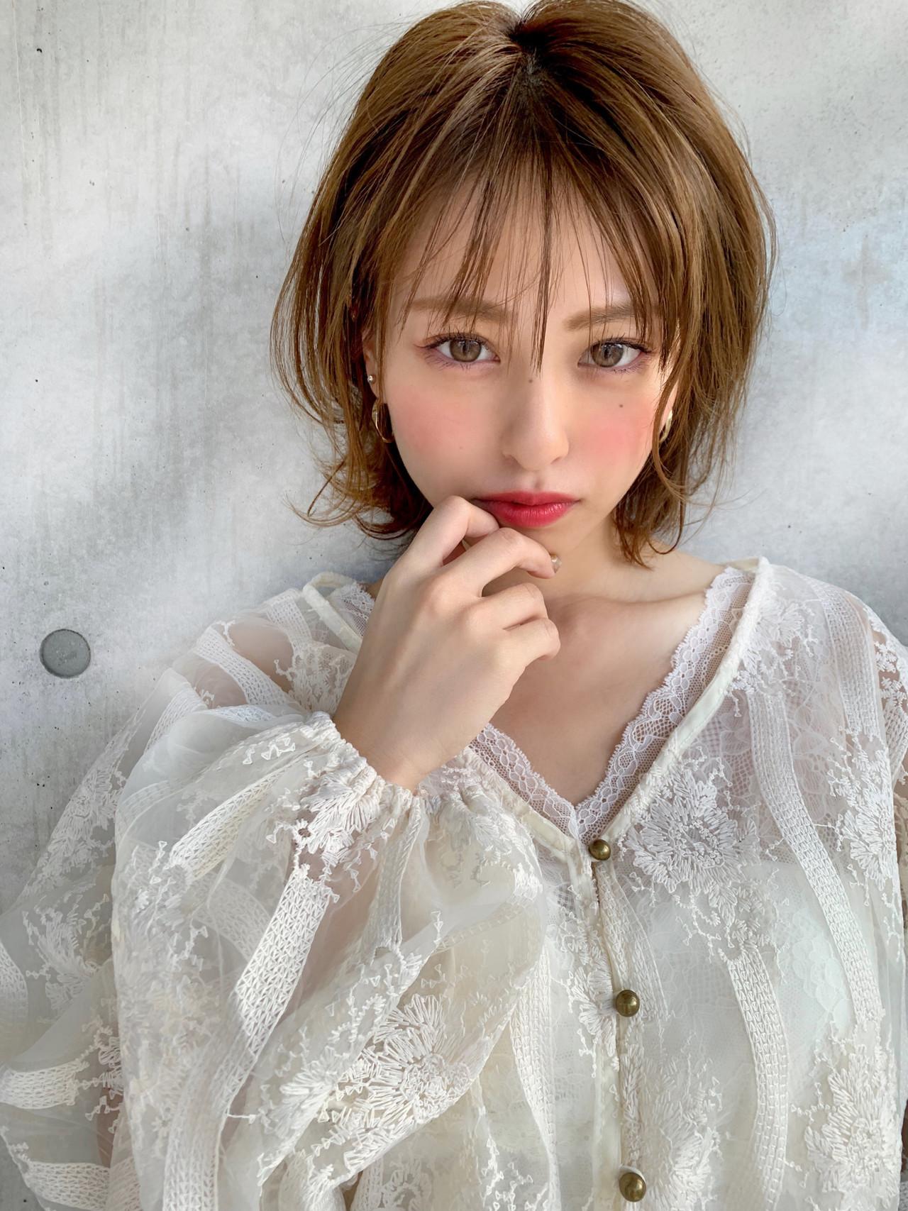 大人可愛いマッシュショートボブ SHIGERU/BABY上野