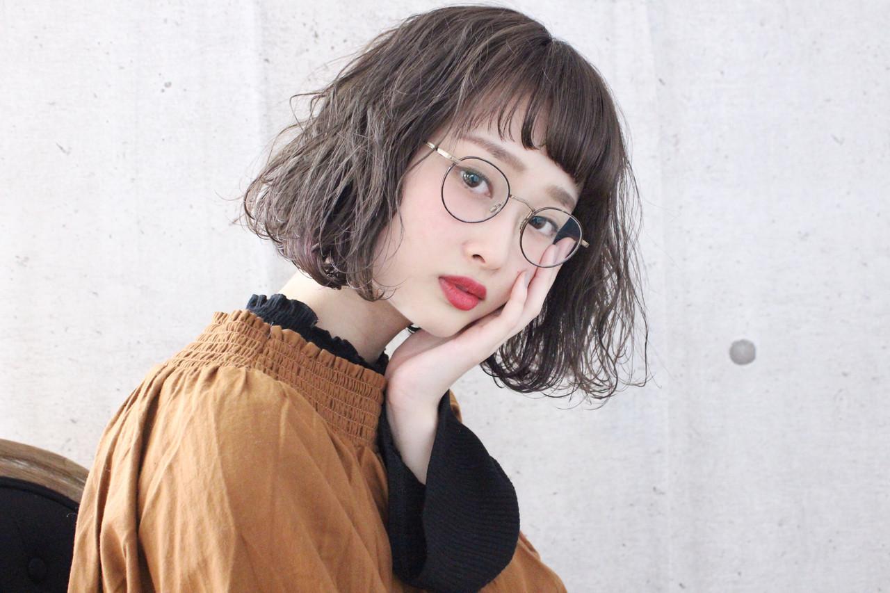ナチュラル アッシュベージュ ミルクティーベージュ 簡単ヘアアレンジ ヘアスタイルや髪型の写真・画像