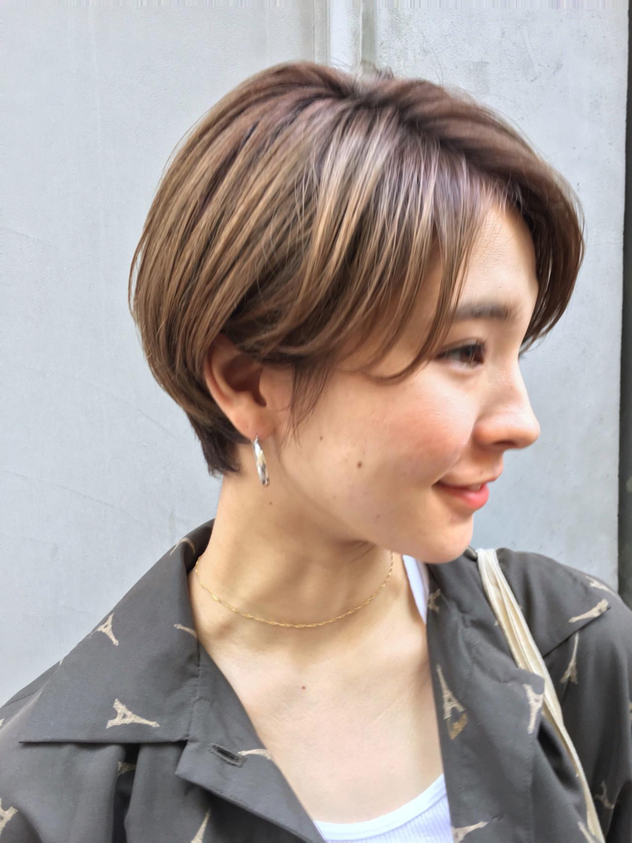 セットもラクラク☆ストレート前髪のショート 佐藤健太郎/GARDEN.Ramie