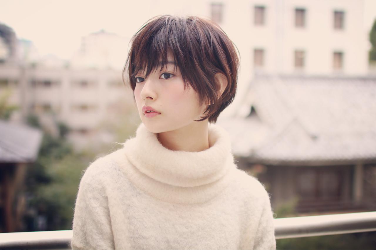 長い前髪がステキ☆男ウケ満点の大人女子っぽヘア SHIN/白田慎