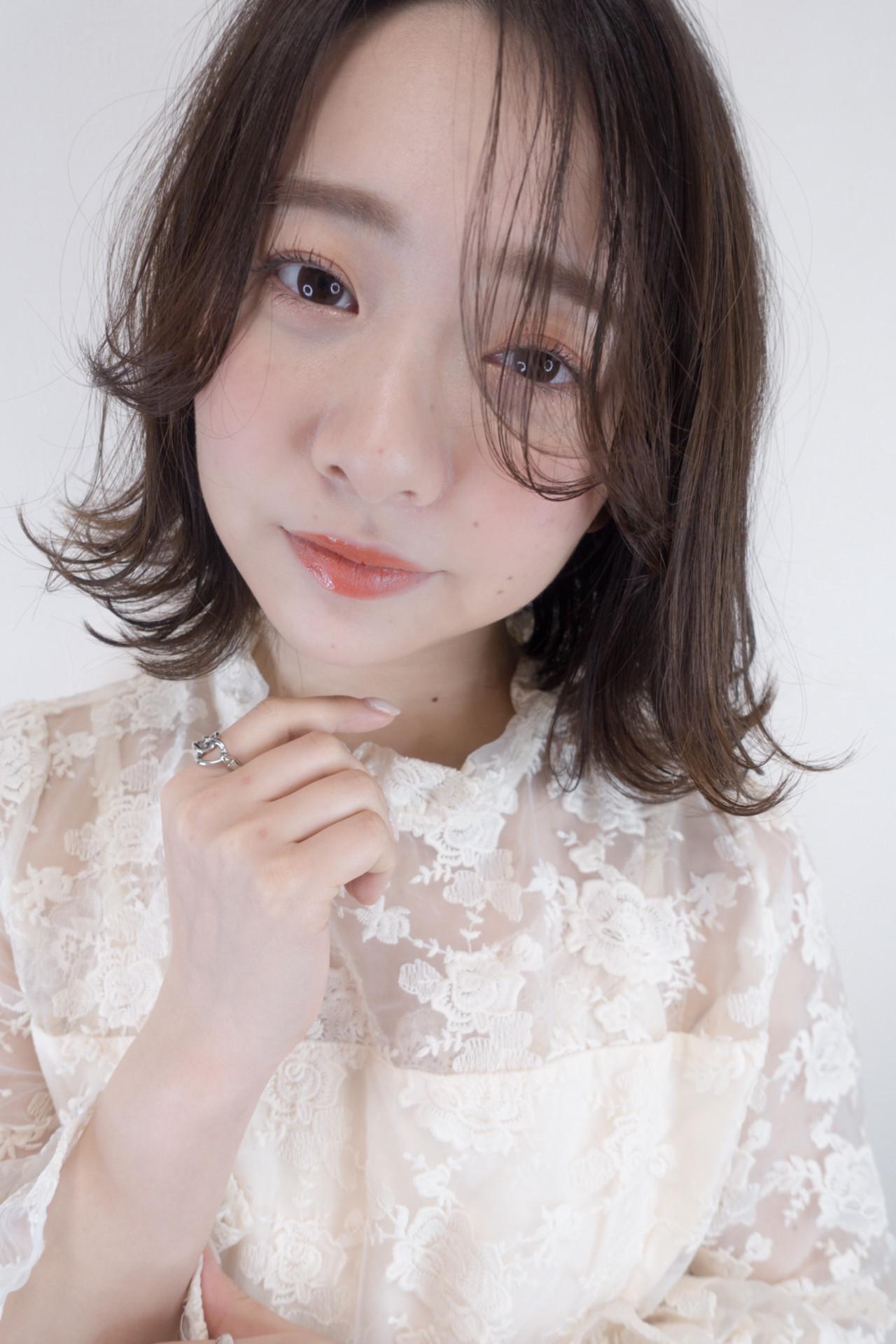 長め前髪はうざバングでかわいく♡ 篠田 雅樹