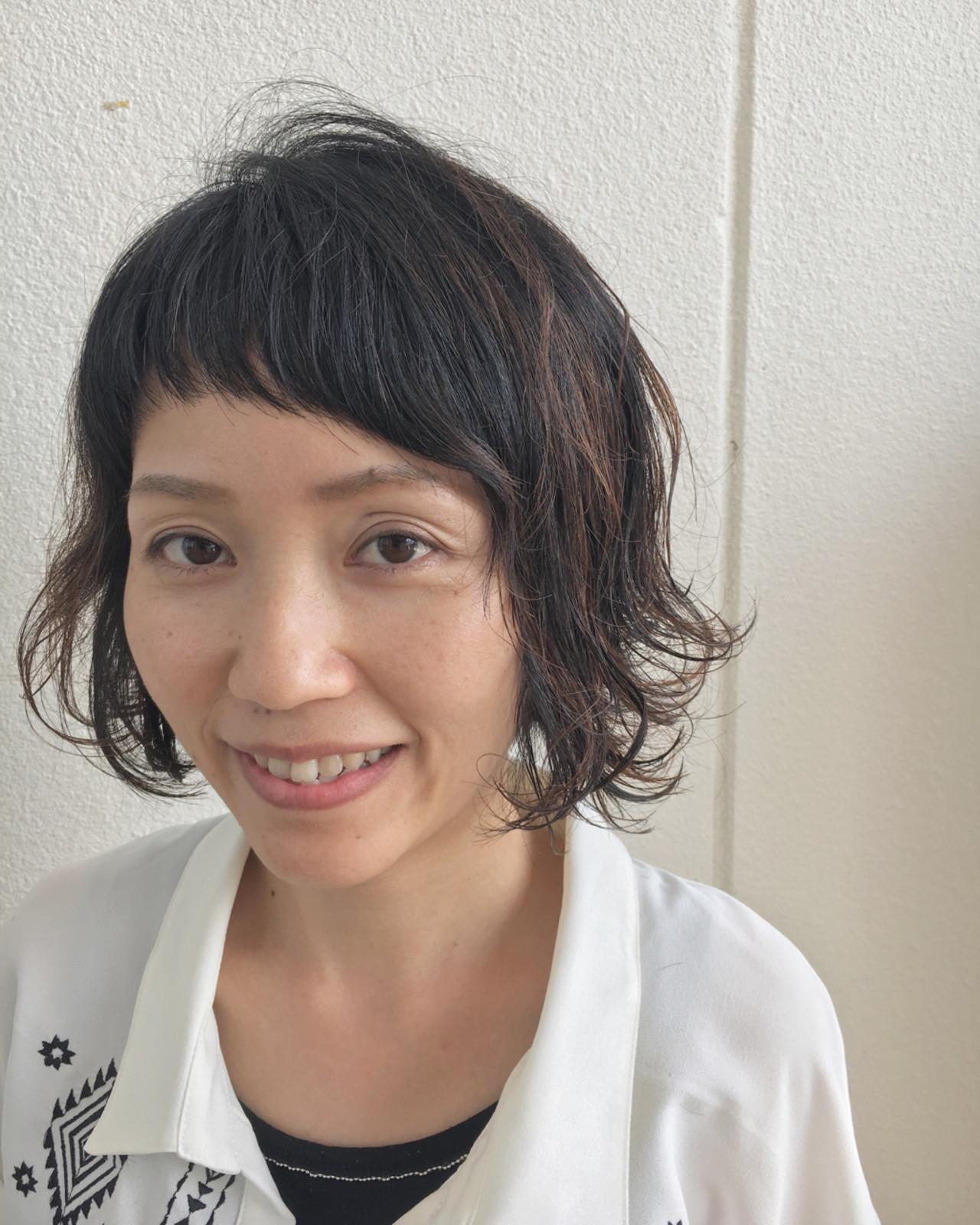 斜めカット前髪が個性的☆周りと差のつくヘアスタイル Yuuta Asato