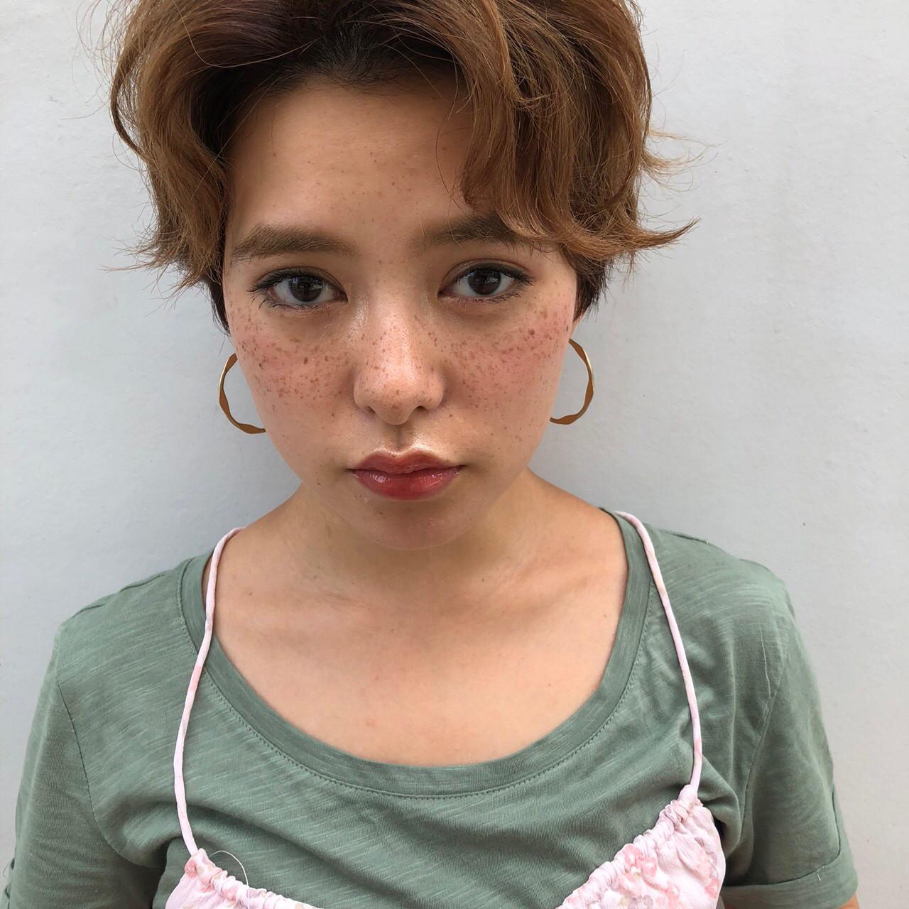 くせ毛風でつくる♡ガーリー女子の似合わせヘア 伊藤 由貴絵