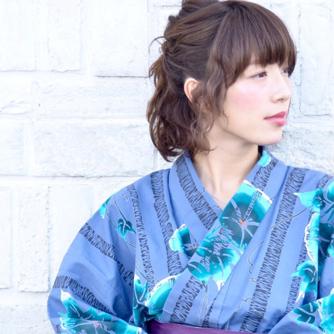 くるりんぱの簡単ハーフアップでナチュラル美女 中野 裕介/jap international