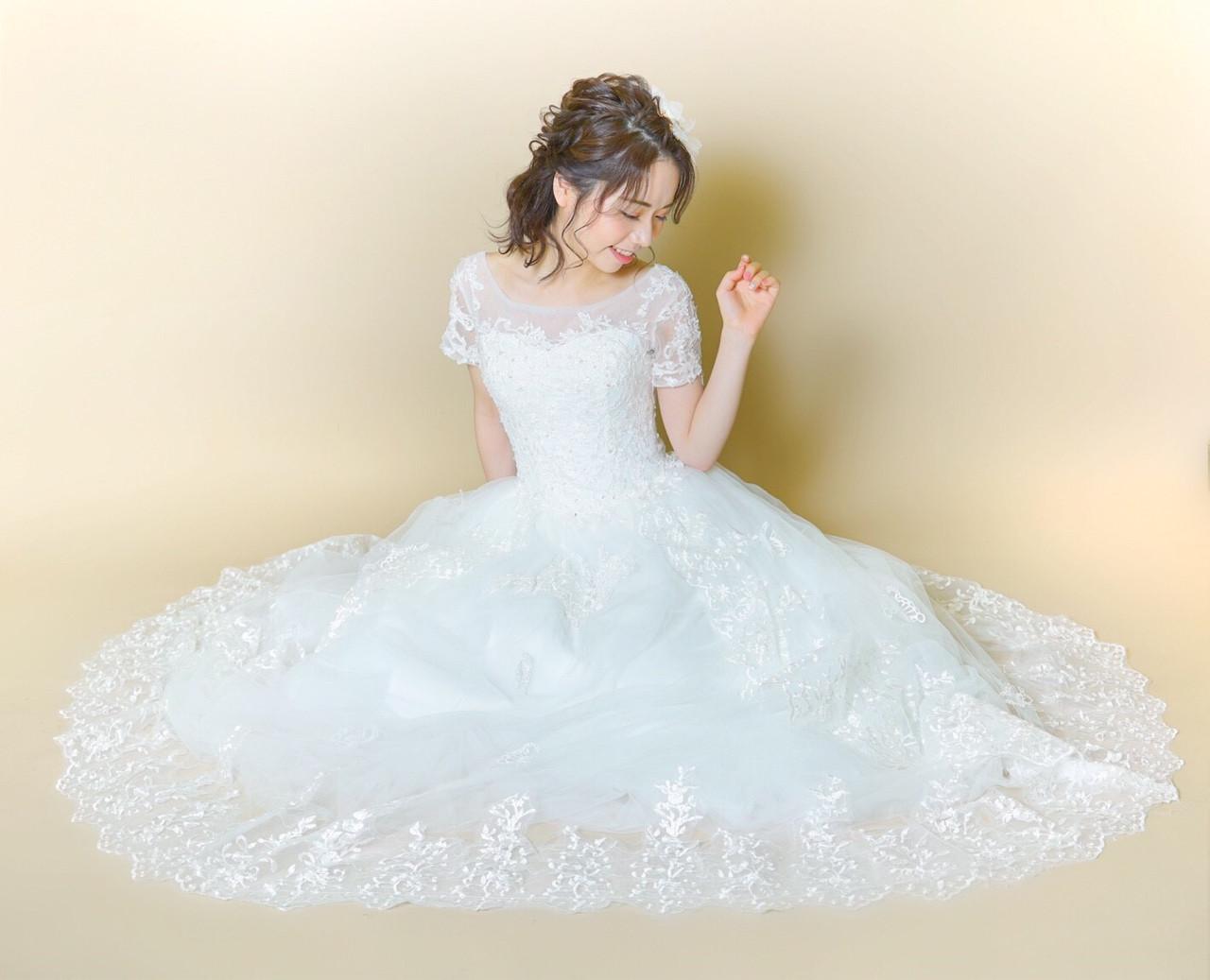 お姫様のように上品でエレガントなハーフアップ 大嶋 理紗